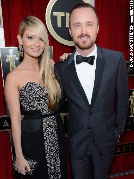 Lauren Parsekian, Aaron Paul