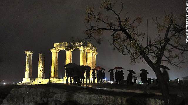 Después de 25 siglos, el Templo de Apolo en Grecia ve la luz