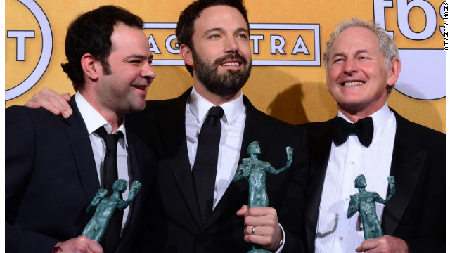 &quot;Argo&quot; vence a &quot;Lincoln&quot; como la cinta favorita de los actores