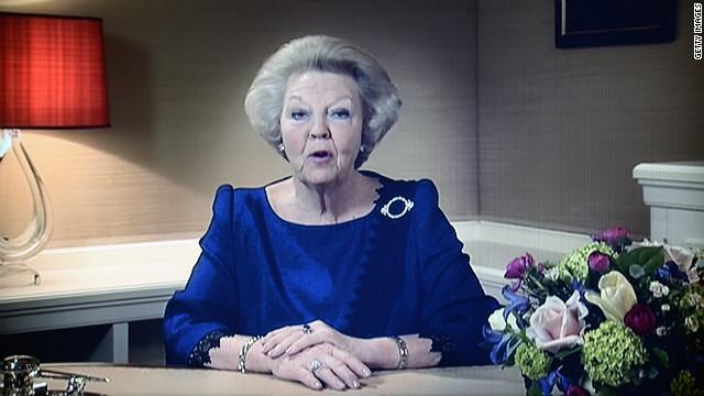 La reina Beatriz de Holanda abdicará al trono después de 33 años
