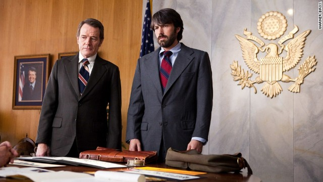 Bryan Cranston, left, and Ben Affleck appear in a scene from the film