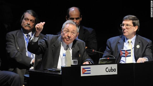 """Raúl Castro pide combatir el narcotráfico """"cuando está naciendo"""""""