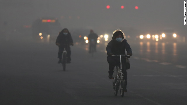 Tuesday's heavy smog is the fourth such episode in Beijing this year.