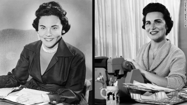 "Esther ""Eppie"" Lederer, left, doled out advice under the name Ann Landers, while her twin sister, Pauline Phillips, authored the ""Dear Abby"" advice column under the pseudonym Abigail Van Buren. Phillips died earlier this month."