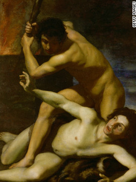 Biblical brothers Cain and Abel were the first and one of the worst examples of sibling rivalries. Cain's murder of his brother is depicted in this 17th century painting by Bartolomeo Manfredi. 
