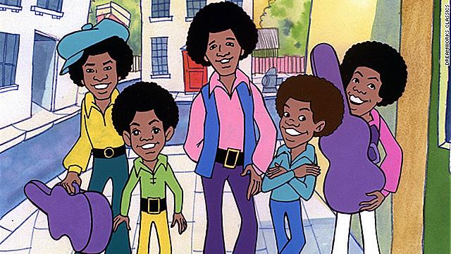 """Los """"Jackson 5ive"""", una aventura musical inmortalizada en la animación"""