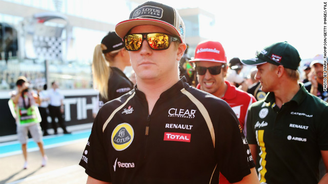 Finland's Kimi Raikkonen was crowned the Formula One world champion while driving for Ferrari in 2007.