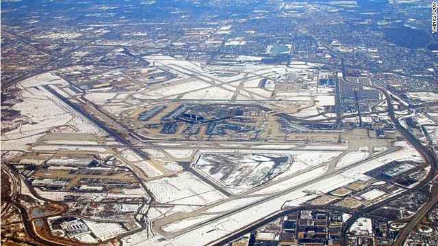 Chicago's O'Hare International Airport was ranked No. 2 in services for business travelers.