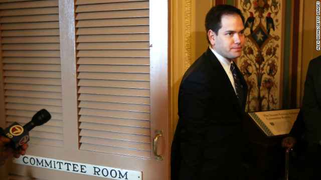 Rubio, pitching immigration plan to conservatives, identifies potential sticking points
