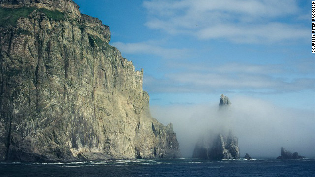 Norway's Bear Island is the southernmost island in the Arctic archipelago of Svalbard.