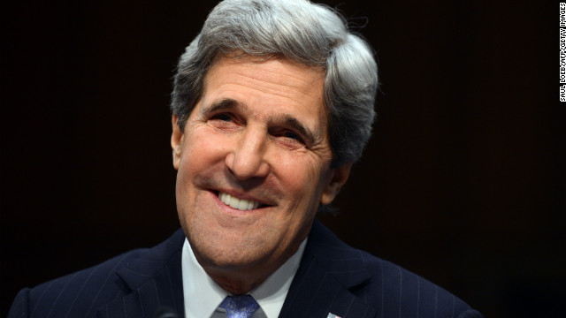 John Kerry was overwhelmingly confirmed Tuesday as the 68th secretary of state by his colleagues in the U.S. Senate.