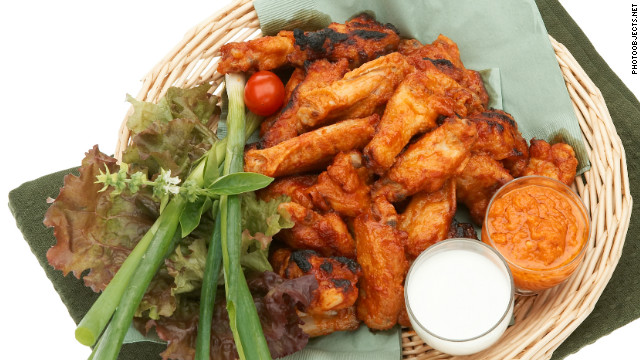 Despite price hike, football fans still flock to chicken wings
