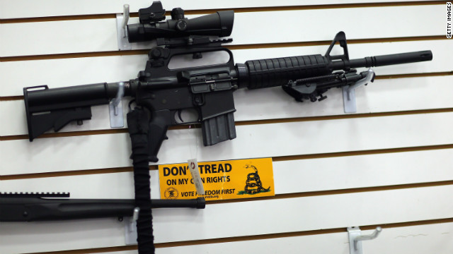 Senate panel passes ban on assault-style weapons