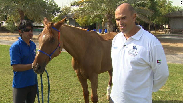 Ponton's husband Jaume Punti-Dachs trains Intissar, who was the mount of Sheikh Mohammed when he won the 2012 World Endurance Championship in Britain.