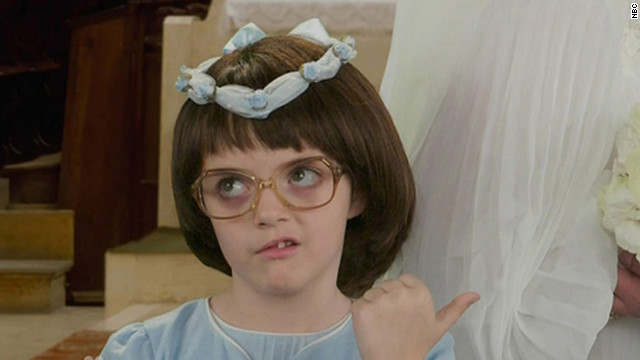 Young Liz Lemon, whether she's played by Tina Fey or her adorable daughter
