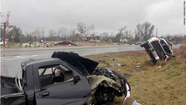 El mal clima causa dos muertos en el sureste de EE.UU.