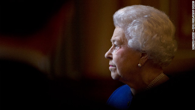 Queen Elizabeth II tours the Foreign and Commonwealth Office on December 18, 2012 in London. She is more popular than ever among British adults.