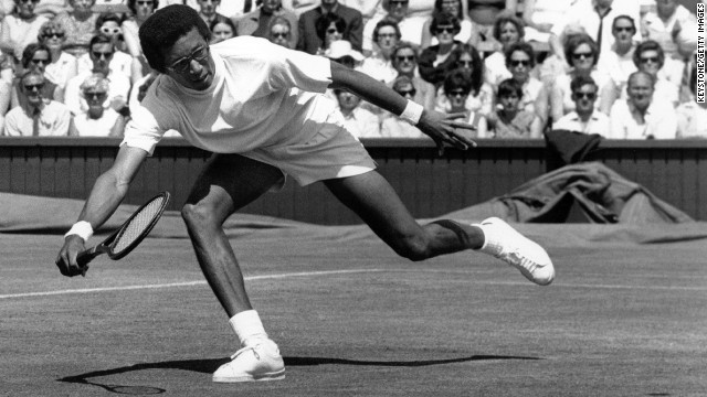 Gibson was not only an inspiration for female tennis players, but also for men's stars such as Arthur Ashe -- the only black male player to win the U.S. Open, Wimbledon or Australian Open titles. The U.S. Open's main stadium is named after him.