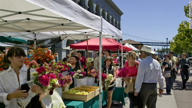Some of San Francisco's best chefs can be found at the outdoor <a href='http://www.ferrybuildingmarketplace.com/farmers_market.php' target='_blank'>Ferry Plaza Farmers Market,</a> which is open on Tuesdays, Thursdays and Saturdays.