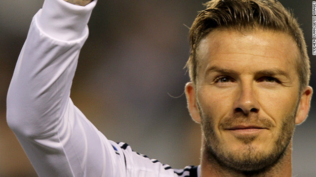 David Beckham jugará con el Paris Saint-Germain