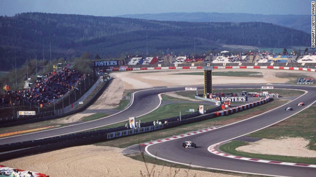 Nurburgring is renowned for its daunting technical challenges and has the nickname of the