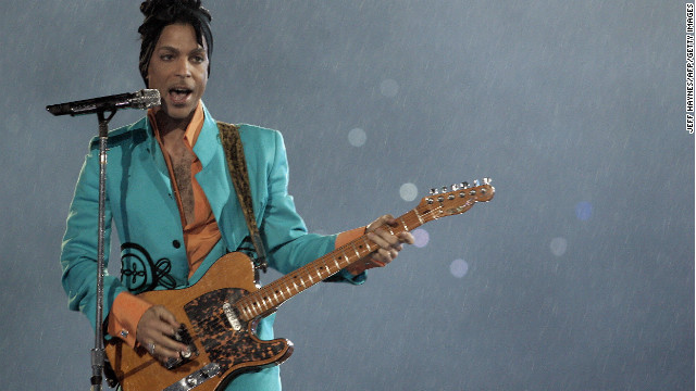 "In addition to his own hits ""Let's Go Crazy,"" ""1999"" and ""Purple Rain"" (in the rain), Prince used the 2007 halftime show to masterfully weave in other artists' classics like Queen's ""We Will Rock You,"" Tina Turner's ""Proud Mary"" and Bob Dylan's ""All Along the Watchtower."""