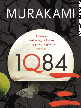 Cover of &quot;1Q84&quot; by Haruki Murakami. His character Masami Aomame is a lonely female assassin who finally finds love in a fictionalized 1980s Tokyo.