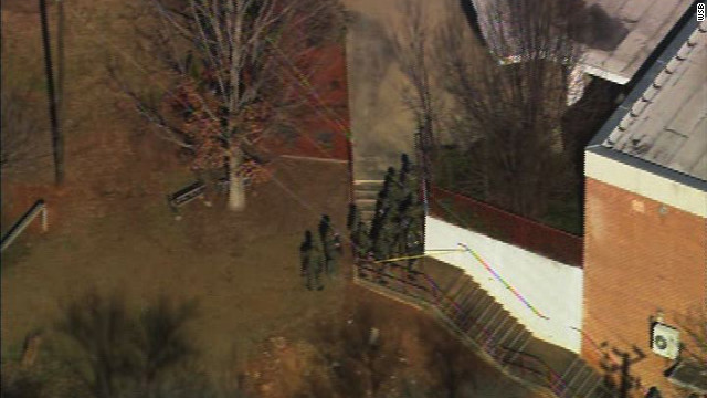 Student shot at Atlanta school; fellow student in custody