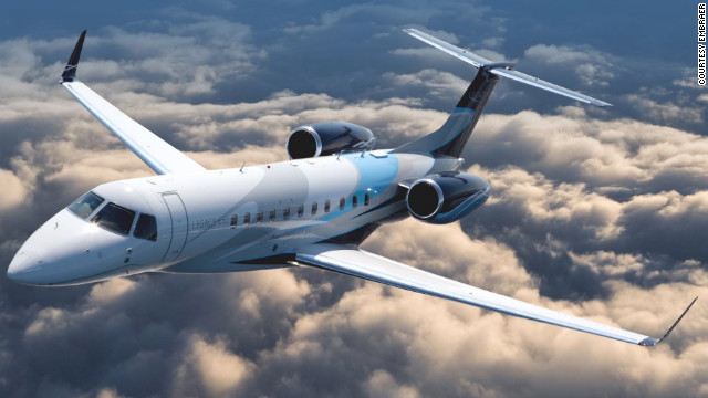 Action film star Jackie Chan owns an Embraer Legacy 650. This plane can fly nonstop from London to New York or from Miami to Sao Paulo, Brazil. Range: About 4,400 statute miles. Seating: up to 14. Top speed 609 mph.