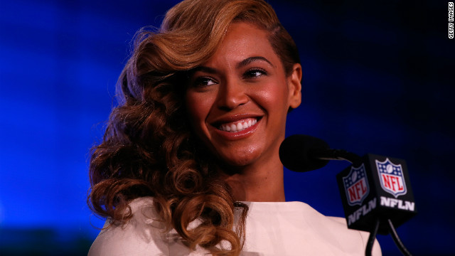 Beyoncé admits singing 'with my prerecorded track' at inauguration