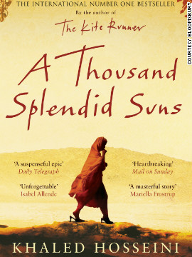 Cover of &quot;A Thousand Splendid Suns&quot; by Khaled Hosseini. Mariam, the book's protagonist, is married against her will at the age of 15 to an abusive man 30 years her senior. 