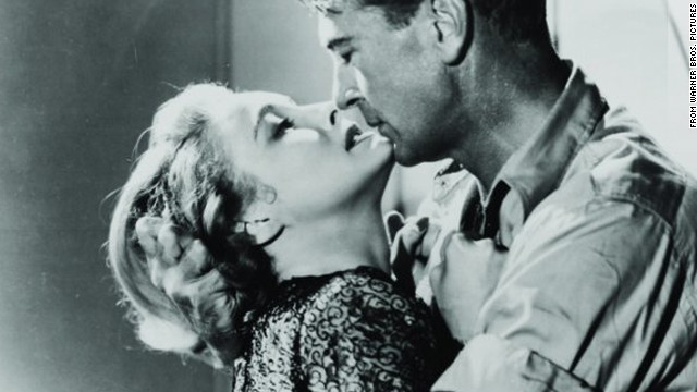 Patricia Neal as Dominique Francon and Gary Cooper as Howard Roark in King Vidor's 1949 adaptation of Ayn Rand's &quot;The Fountainhead.&quot; 