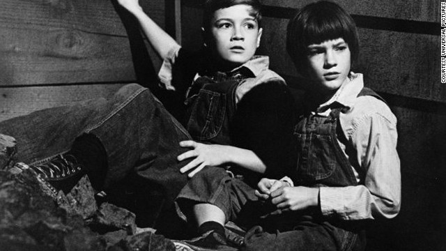 Mary Badham plays Scout Finch in a 1962 film adaptation of Harper Lee's &quot;To Kill a Mockingbird.&quot;