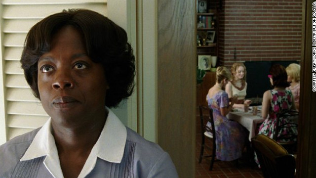 "Viola Davis as Aibeleen Clark in a 2011 film adaptation of ""The Help"" by Kathryn Stockett."