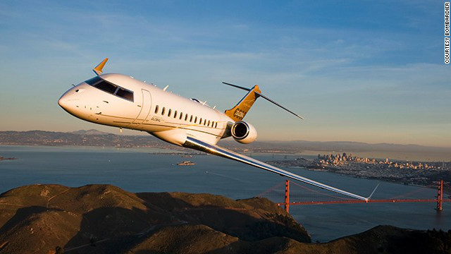 Oprah and Bill Gates reportedly each own a Bombardier Global 6000, aka Global ExpressXRS. Nice amenity: private stateroom in the rear of the cabin. Bombardier says it can be ready to fly in as little as 30 minutes. Seating: up to 19. Top speed: 590 mph.