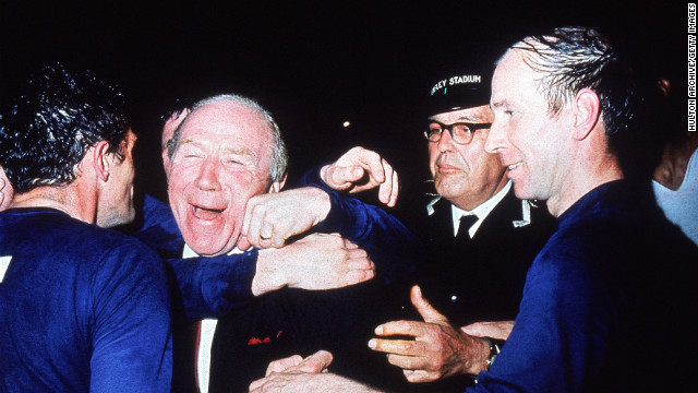 Scotland's Matt Busby led Manchester United to the European Cup in 1968 as well as domestic league glory on five separate occasions. Busby, who survived the Munich Air Disaster of 1958, is considered one of the most successful managers in British football.