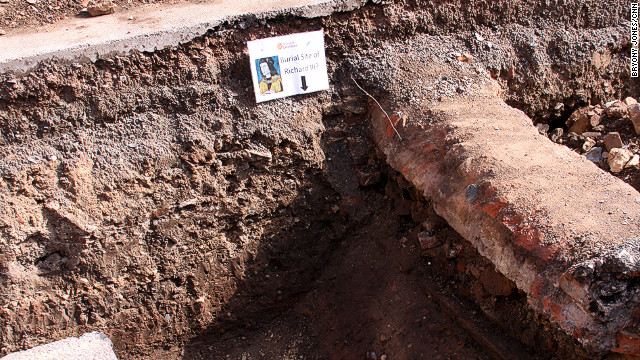 Remains matching the description of Richard III were found buried beneath a parking lot last year
