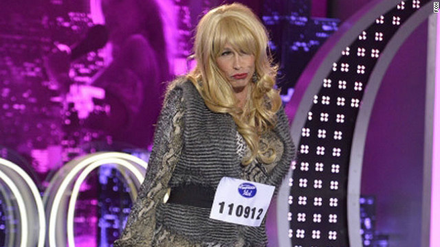 Steven Tyler does 'Idol' audition in drag