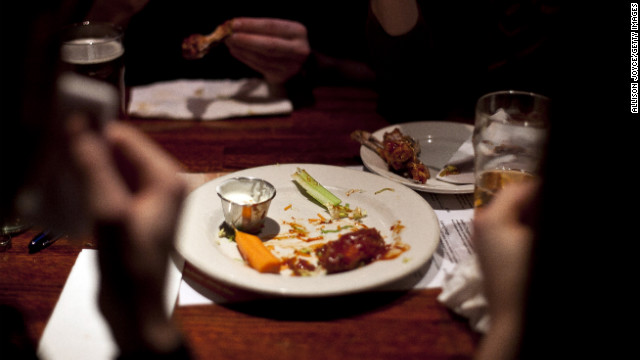 "1.23 billion chicken wing ""portions"" are expected to be eaten during Super Bowl weekend."