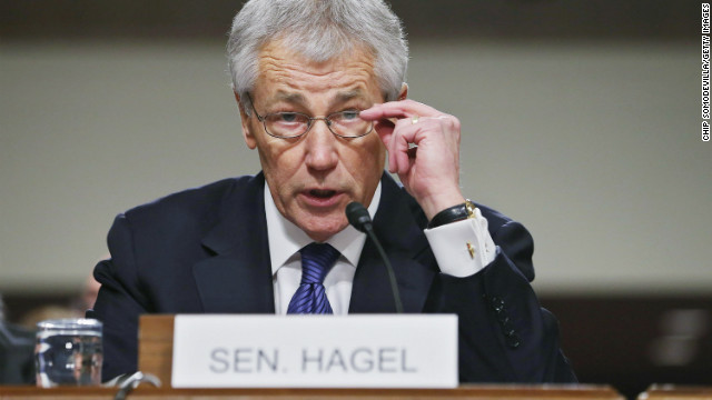 Former Sen. Chuck Hagel, a Republican and a skeptic of military interventions, might become the next secretary of defense.