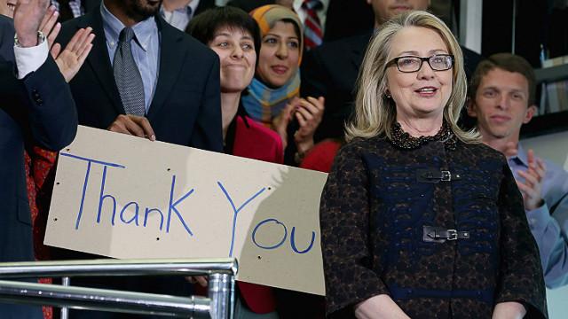 """Clinton se despide """"orgullosa de lo logrado"""" como secretaria de Estado"""