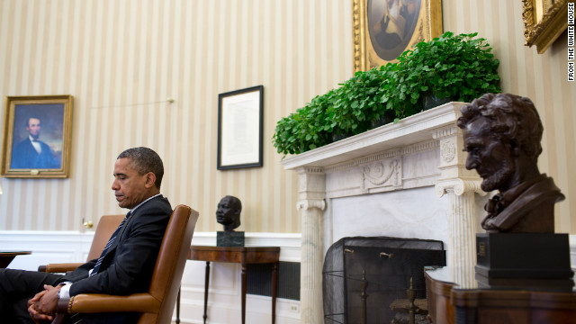 Report: Obama leaving the Oval Office, for another
