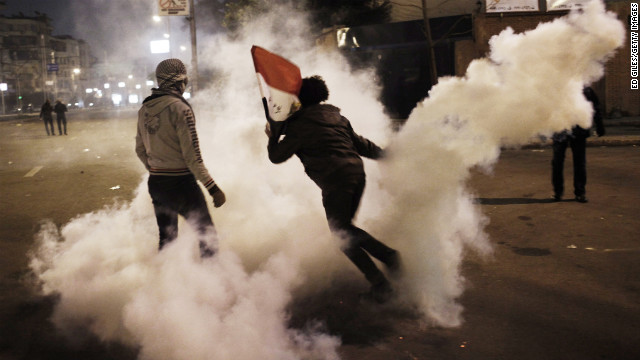 Photos: Egypt unstable after days of protest