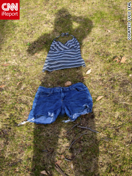 <a href='http://ireport.cnn.com/docs/DOC-919258' target='_blank'>iReporter Lulis Leal</a> shot this creative photo of her shadow in Cedar Grove, New Jersey, and says she is looking forward to warmer weather.
