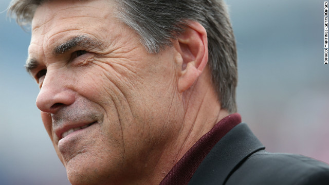 Rick Perry tries to lure gun makers to Texas