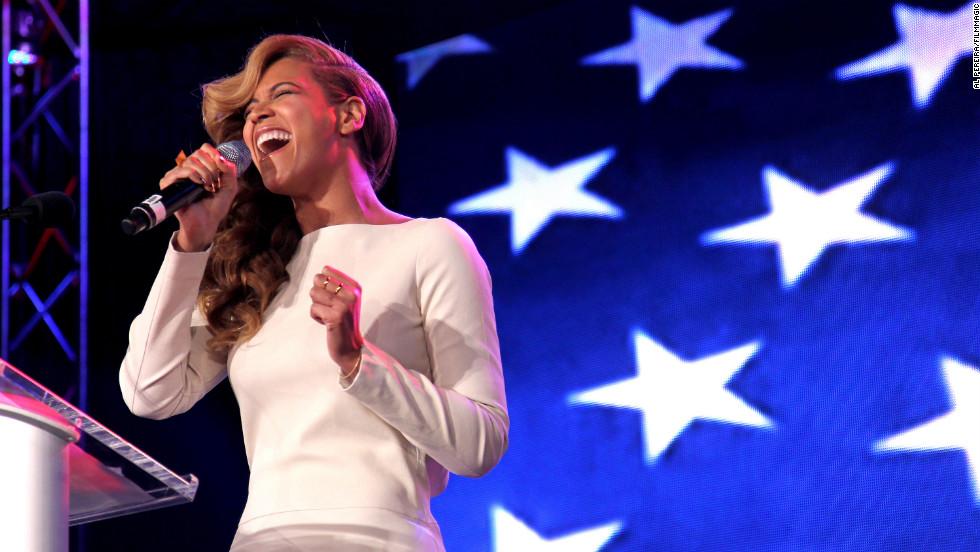 Beyonce a través de los años