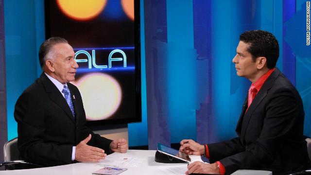 La última entrevista de Lino Oviedo con un medio internacional, este lunes en Cala