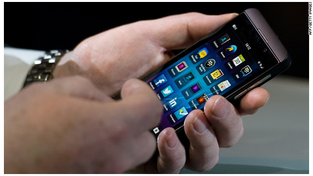 BlackBerry se deshace del teclado físico