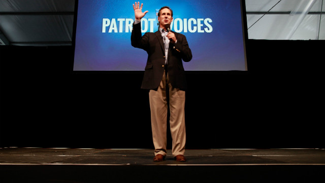 Santorum says scouts may not survive if gays allowed