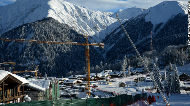 The countdown is on. With the 2014 Olympic Winter Games due to take place from February 7-23, the Russian city of Sochi is hard at work getting its infrastructure into shape.